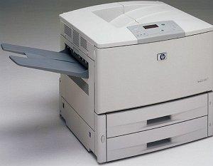 HP LaserJet 9000, B&W-laser (C8519A)