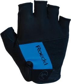 Roeckl Nuxis Fahrradhandschuhe schwarz/blau (3106-672-056)