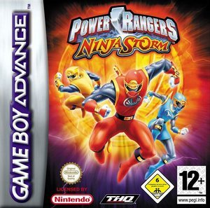 Power Rangers: Ninja Storm (GBA)