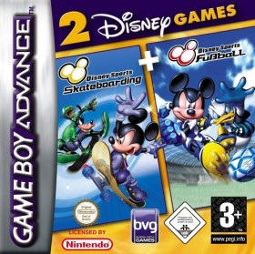 2 Games in 1 - Disney Sports Pack (GBA)
