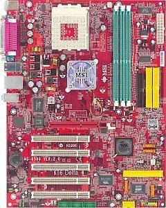 MSI KT6 Delta2-FIS2R, KT600 [PC-3200 DDR] (MS-6590)
