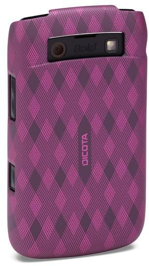 Dicota Hard Cover for Blackberry Bold 9700/9780 purple (D30229)