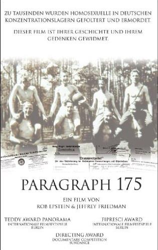 Paragraph 175 -- via Amazon Partnerprogramm