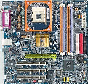 Gigabyte GA-8TRS300 (dual PC-3200 DDR)