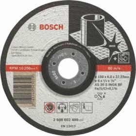 Bosch AS 30 S INOX BF Expert for Inox Schleifscheibe 150x6mm, 1er-Pack (2608602489)