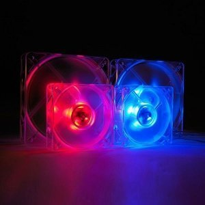 SilenX Effizio Quiet LED Fan Series, 80mm rot (EFX-08-15R) -- © SilenX Corporation