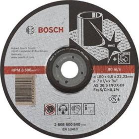 Bosch AS 30 S INOX BF Expert for Inox Schleifscheibe 180x6mm, 1er-Pack (2608600540)