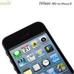 moshi ivisor ag f r apple iphone 5 5s 5c schwarz. Black Bedroom Furniture Sets. Home Design Ideas