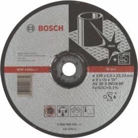 Bosch AS 30 S INOX BF Expert for Inox Schleifscheibe 230x6mm, 1er-Pack (2608600541)