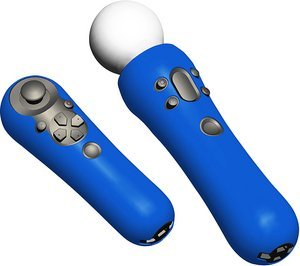 Speedlink Guard Silicone Skin for Playstation Move controller, blue (PS3) (SL-4319-SBE)
