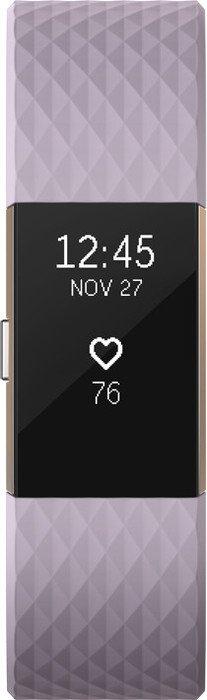 Fitbit Charge 2 Large Aktivitäts-Tracker lavendel/rosegold (FB407RGLVL)