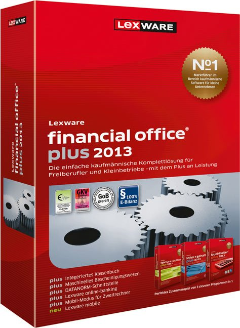 Lexware: Financial Office Plus 2013, Update, ESD (German) (PC)