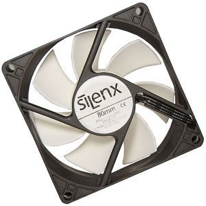SilenX Effizio Thermistor Fan Series, 80mm (EFX-08-15T) -- © SilenX Corporation