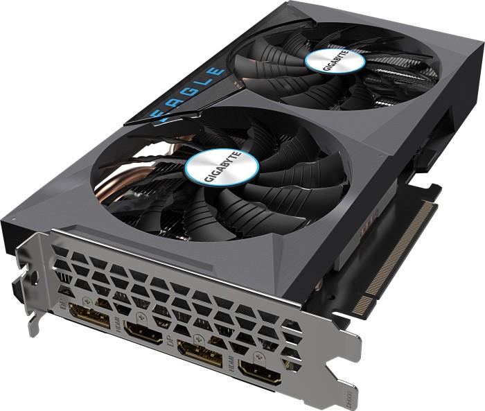 GIGABYTE GeForce RTX 3060 Eagle OC 12G (Rev. 2.0) (LHR), 12GB GDDR6, 2x HDMI, 2x DP (GV-N3060EAGLE OC-12GD 2.0)