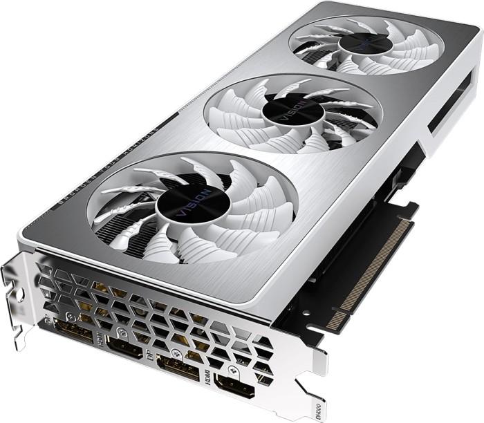 GIGABYTE GeForce RTX 3060 Vision OC 12G (Rev. 2.0) (LHR), 12GB GDDR6, 2x HDMI, 2x DP (GV-N3060VISION OC-12GD 2.0)