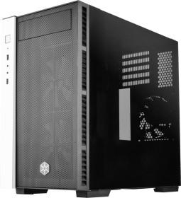 SilverStone Redline Series RL08 white/black, glass window (SST-RL08BW-RGB/22114)
