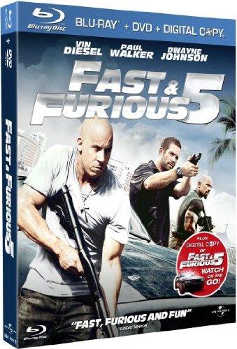 Fast & Furious Five - Limited Steelbook Edition (Blu-ray) (UK) -- via Amazon Partnerprogramm