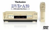 Technics DVD-A10 gold