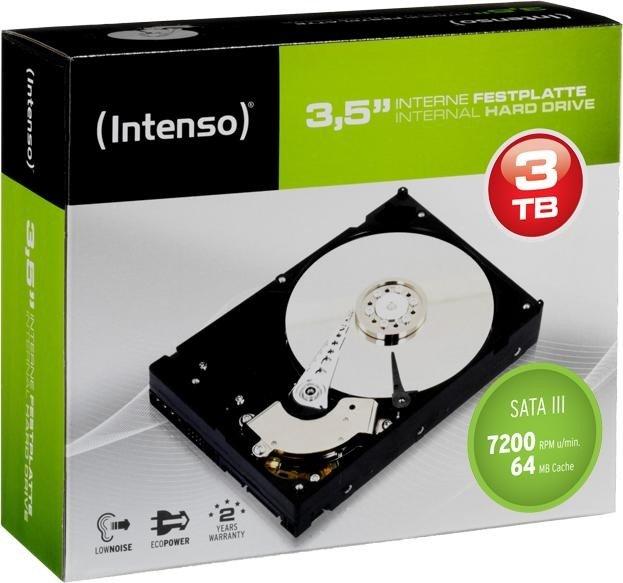 Intenso 3TB, SATA 6Gb/s (6513113)