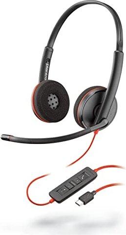 Plantronics Blackwire C3220 USB-C Ersatz-Headset schwarz (209749-22) -- via Amazon Partnerprogramm