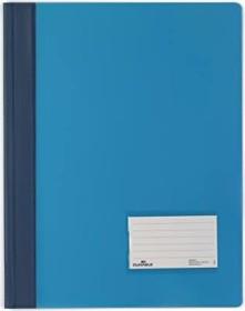 Durable Transluzent Schnellhefter A4, blau (268006)