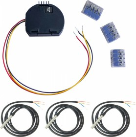 Shelly Temperatur Erweiterungsmodul für Shelly 1/1PM und 3x DS18B20 Temperatursensor, Set