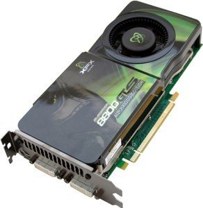 XFX GeForce 8800 GTS 650M (G92), 512MB DDR3, 2x DVI, TV-out, PCIe 2.0 (PV-T88G-YDF)