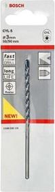 Bosch CYL-5 Betonbohrer 3x50x90mm, 1er-Pack (2608588136)