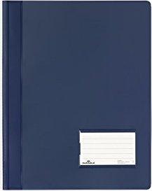 Durable Transluzent Schnellhefter A4, dunkelblau (268007)