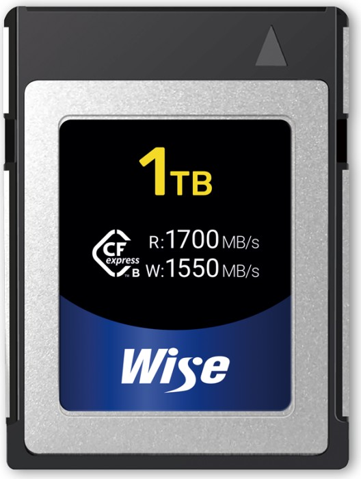 Wise Advanced CFX-B Series R1700/W1550 CFexpress 1.0 Type B 1TB (CFX-B1024)
