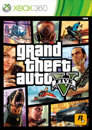Grand Theft car V (English) (Xbox 360)