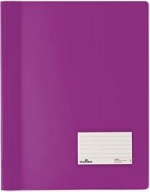 Durable Transluzent Schnellhefter A4, violett (268012)