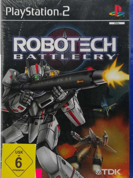 Robotech - Battlecry (German) (PS2) -- via Amazon Partnerprogramm