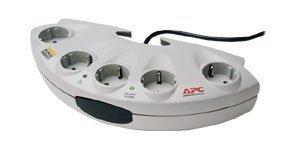 APC SurgeArrest Personal E10-G, filtr przeciwprzepięciowy, sztuk 5 Schuko