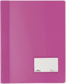 Durable Transluzent Schnellhefter A4, dunkelrosa (268034)