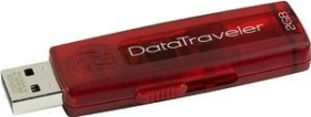 Kingston DataTraveler 100 rot 2GB, USB-A 2.0 (DT100R/2GB)