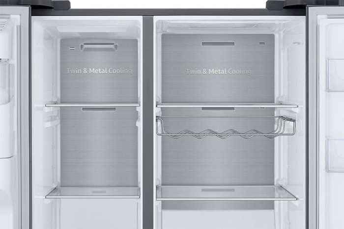 Side By Side Kühlschrank Display : Samsung rs68n8941sl side by side ab u20ac 2299 2018 heise online