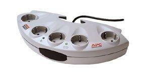 APC SurgeArrest Performance E20-G, Überspannungsschutz, 5er Schuko