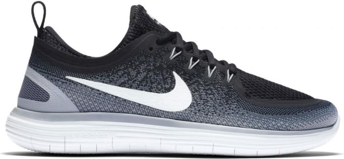 5acc49ca9570 Nike Free RN Distance 2 black cool grey dark grey white (men ...
