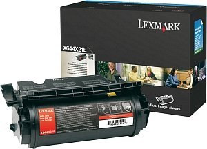 Lexmark X644X21E Toner schwarz extra hohe Kapazität