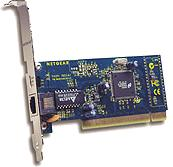 Netgear FA310, 1x 100Base-TX, PCI