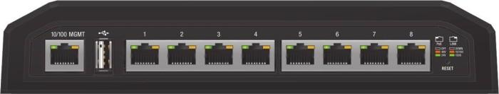 Ubiquiti EdgeSwitch 8 XP Industrial desktop Gigabit Managed switch, 8x RJ-45, passive PoE (ES-8XP)