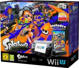 Nintendo Wii U Premium Pack - 32GB Splatoon Bundle schwarz
