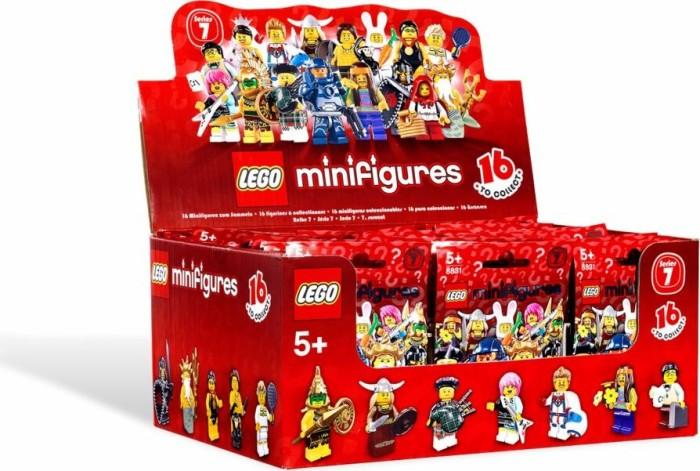 Lego Figur Sammelfigur 8831 Serie 7 Ihrer Wahl