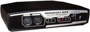 M-audio MIDISport 2x4 MIDI Interface, USB (10122)