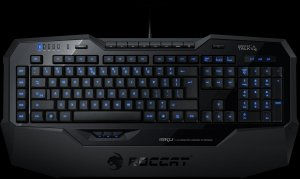 Roccat Isku Illuminated Gaming Keyboard, USB, DE (ROC-12-700)