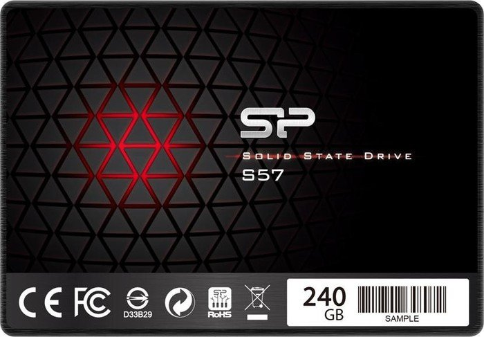 Silicon Power slim S57 240GB, SATA (SP240GBSS3S57A25)
