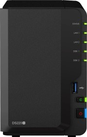 Synology DiskStation DS220+ 8TB, 2GB RAM, 2x Gb LAN