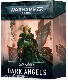 Games Workshop Warhammer 40.000 - Datakarten: Dark Angels (DE) (04050101005)