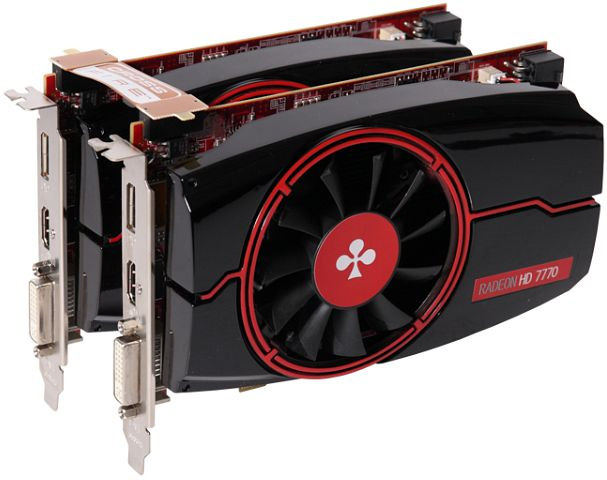 Club 3D Radeon HD 7770 GHz Edition Bundle, 2x 1GB GDDR5, 2x DVI, 2x HDMI, 2x DisplayPort (CGAX-7772CCF)
